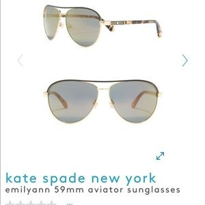 Kate Spade Emily Ann aviator sunglasses